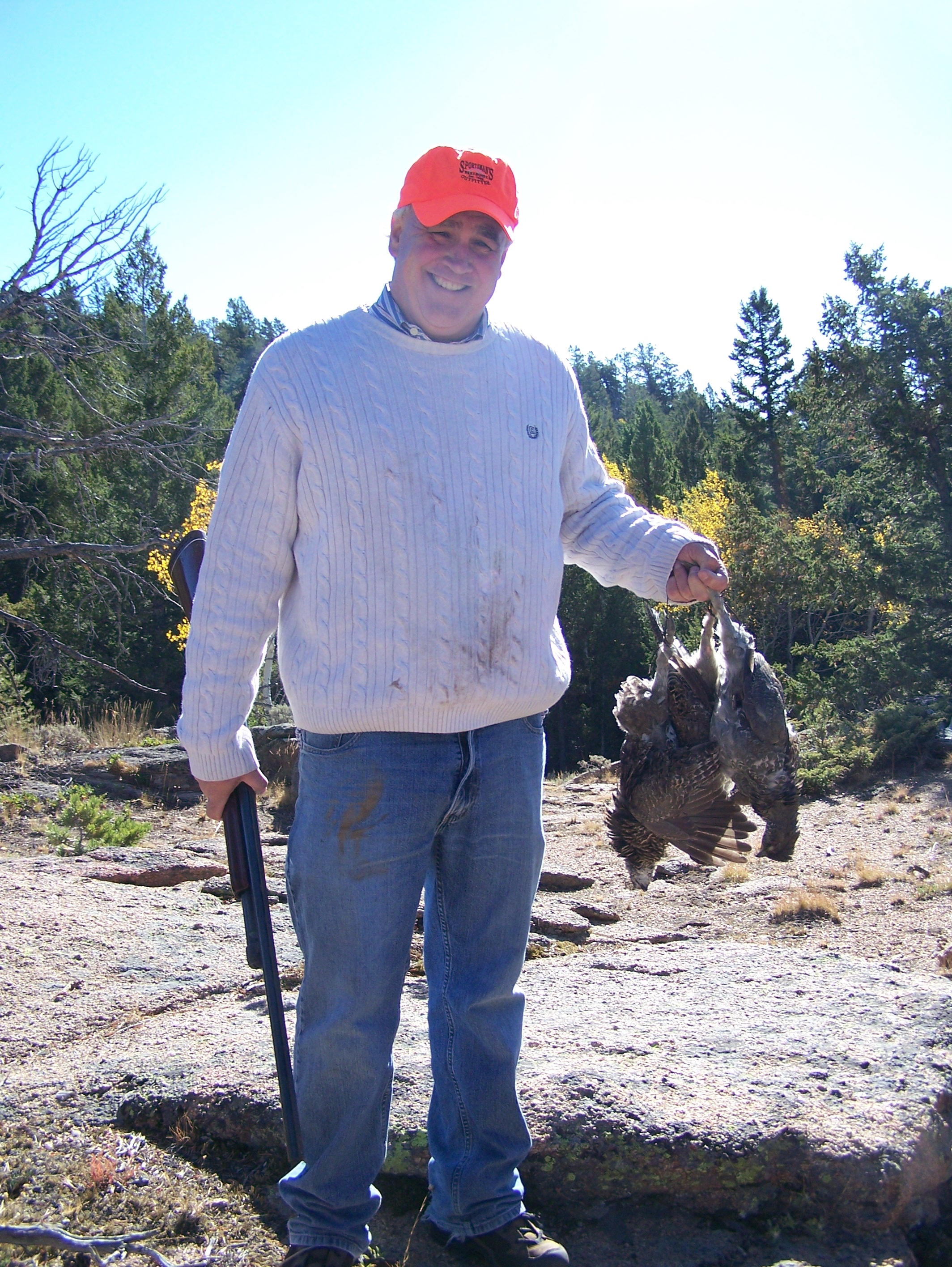blue grouse are good eating